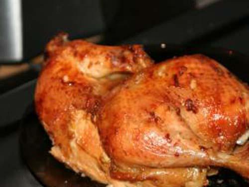 Курица в духовке в соевом соусе