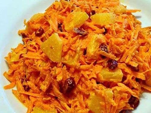 Морковное мороженое сманго